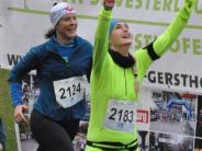 Silvesterlauf: Doppelsieg für die LG Zusam