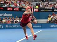 Tennis: Tennis-Trio im Halbfinale - Petkovic in Brisbane raus