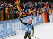 Biathlon: Biathlon: Dahlmeier feiert Doppel-Triumph in Ruhpolding