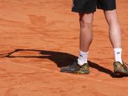 Tennis: Schatten auf dem weißen Sport