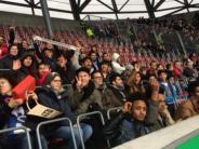 Fußball: Mindelkicker besuchen FCA-Spiel