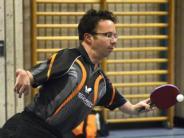 Tischtennis: Ein Paralympics-Sieger hilft aus