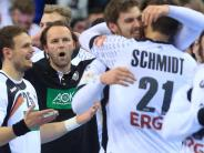 Handball: EM-Helden in Party-Schleife: Schaulaufen bei All-Star-Gala