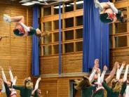 Präsentation: Cheerleader heizen ein