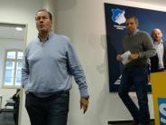 Fußball: Das Herz! Stevens tritt in Hoffenheim zurück