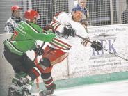 Eishockey: Neuling bringt den Dino zu Fall