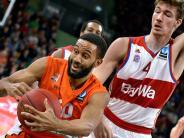 Basketball Eurocup: Ulmer besiegen die Bayern innerhalb vier Tagen zum zweiten Mal.