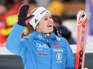 Ski alpin: Ungewohnt:Rebensburg plant Start inSuper-Kombination