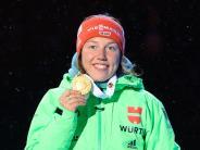 Biathlon WM: Dahlmeier, Neuner und Co. - die deutschen Biathlon-Weltmeister