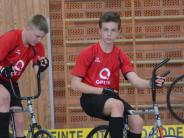 Radball: Ein Team im Doppeleinsatz