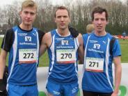 Crosslauf: Trio der LG Zusam  sechstbestes Team in Deutschland