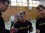 Radball: Überlegen ins Halbfinale gespielt