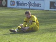 Fußball-Landesliga: Aindling nach fatalem Fehlschuss am Boden