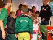 Rieblingen: Blasmusik für die FCA-Stars