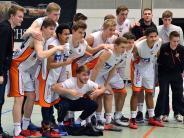 Basketball  Weißenhorn Play-off: Frankfurter Farmteam von Weißenhorn Youngstars vorgeführt.