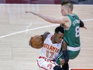 Basketball: NBA: Schröder gewinnt mit Hawks erneut gegen Boston