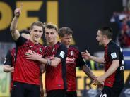 2. Bundesliga: Freiburg und Leipzig können am Wochenende aufsteigen