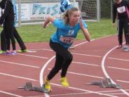 Leichtathletik: Rekorde auf regennasser Bahn