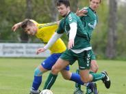 Kreisklasse Augsburg Nordwest: Fußball TSV Ustersbach gegen VfL Westendorf