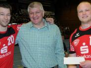 Handball: Vöhringer Fans feiern den Absteiger