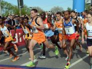 Leichtathletik: 21,1 Kilometer (k)ein bissl langsam