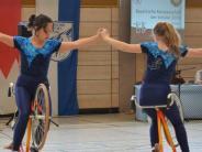 Kunstradfahren: Gelungene Premiere