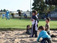 Fußball: Spielen, während Papa für Mindelheim kickt