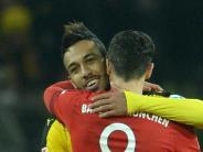 Bundesliga: Twitter-Duell: Aubameyang fordert Lewandowski heraus