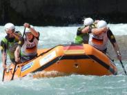 Rafting: Am Ende ging die Luft aus
