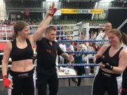 Kickboxen: Den Weltmeistertitel widmet sie der Mutter