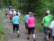 Landkreistour: Nordic Walker gehen in Ebershausen an den Start