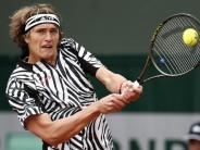 Tennis: Zverev sieht Chance auf dritte French-Open-Runde