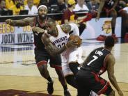 Basketball: NBA-Playoffs: Cleveland mit Kantersieg gegen Toronto