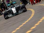 Motorsport: Plattfuß durch Gullideckel: Rosberg am Ende Dritter