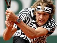 Tennis: Zverev in dritter French-Open-Runde - Maria raus