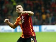 Fußball: Podolski köpft Galatasaray zum türkischen Pokalsieg