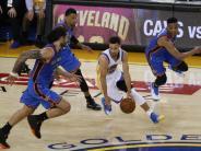 Basketball: NBA-Meister Golden State vermeidet vorzeitiges Halbfinal-Aus