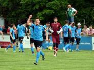 Fußball Relegation: SV Cosmos Aystetten - TSV Meitingen