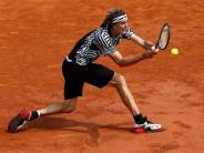 Tennis: French Open: Zverev als letzter deutscher Profi draußen