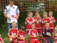 Jugendfußball: Stolze Nachwuchskicker bei Turniertag des SC Unterrieden