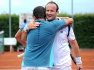 Tennis I: Buchdorf jubelt über wichtigen Sieg