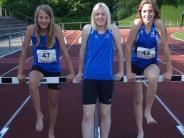 Leichtathletik: Die Medaillen knapp verpasst