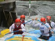 : Rafting auf dem Eiskanal