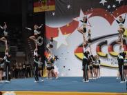 Cheerleader: Knapp das Podest verpasst