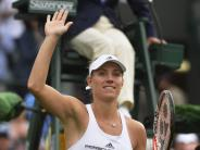 Tennis: Damen-Tag in Wimbledon: Kerber & Co. hoffen