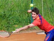 Tennis: Knapp den ersten Landesliga-Sieg verpasst