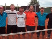 Tennis: Mertinger machen ihr Meisterstück