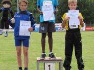 Leichtathletik: Der mehrfache Sprung auf das Treppchen