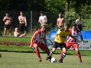 Fußball: Kicken statt Planschen