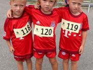 Kids-Running: Drillinge und jede Menge Deisenhauser dabei